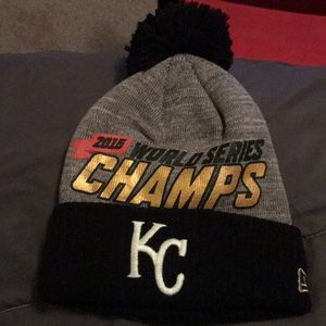 36960457 Kansas City Royals World Series beanie